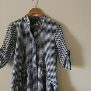 Floryday gingham dress 046